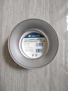 snow peak titanium bowl STW-003T