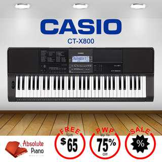 Casio Music Sale! Casio Digital Keyboard CT-X 800