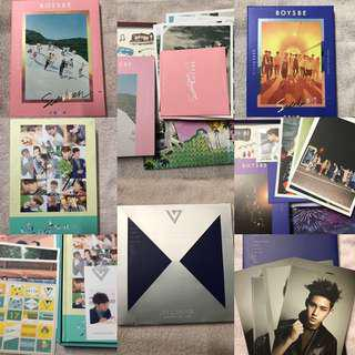 [WTS] SEVENTEEN Boys Be, Love & Letter and 17 Carat Albums