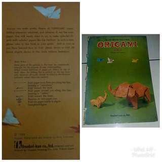 Vintage Origami Books