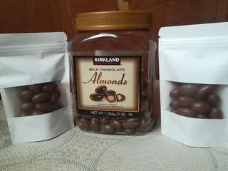 Kirkland almond 20pcs.