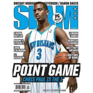 SLAM Magazine Chris Paul February 2009