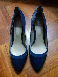 blue high heels 37-38