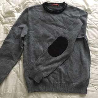 Prada Grey Wool Jumper