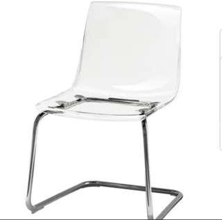IKEA Clear TOBIAS chair