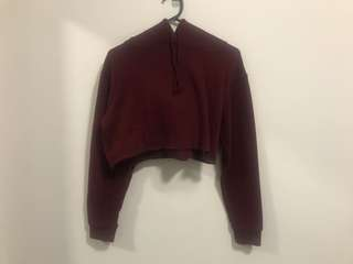 Glassons cropped sweat