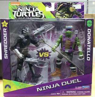 Bnew Ninja Duel TMNT Teenage Mutant Ninja Turtles Donatello Shredder