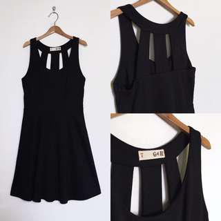 Voir Black Skater Dress