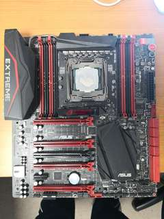 Asus R5E MB and Intel 5930k bundle