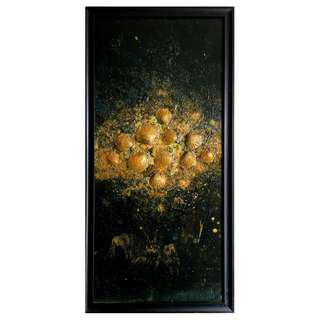 "Wall Decoration / Painting / ""Burst #9"""