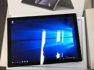 Microsoft Surface Pro 5 Core i5 8GB 256GB (exchanged new), Warranty date 21-7-2019