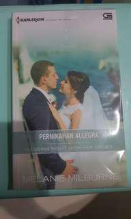 #bersihbersih Pernikahan Allegra - Melanie Mikburne (Harlequin)