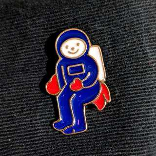 Astronaut Pin
