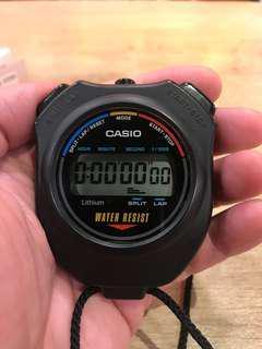 Casio 計時器