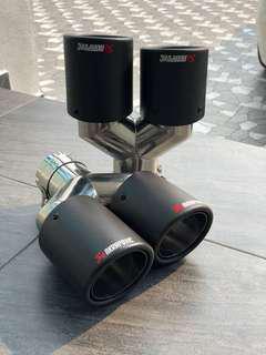 Akrapovic Carbon Quad Exhaust Tips
