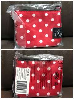 Jujube JJB Red Ruby Coin Pouch