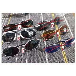 HK$10/1PC ~ CLEARANCE SALE ~ Sample Display Sunglasses 清貨全新樣辦貨, 太陽眼鏡display貨
