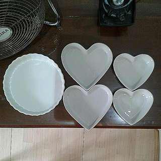 Porcelain Baking Molds