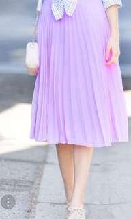 Zara light purple midi skirt size XS