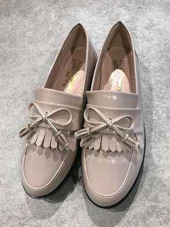 [KOREA]漆皮流蘇休閒鞋☻