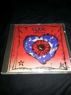 CDS The Cure. Friday I'm in love. Single