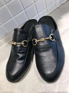 [KOREA]釦帶穆勒拖鞋☻