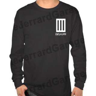 Paramore (Fan Art Logo) Long Sleeve T-Shirt