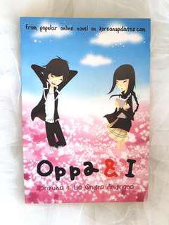 """Oppa and I"" Novel by Orizuka"