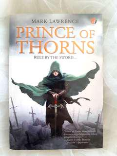 """Prince of Thorn"" Novel by Mark Lawrence"