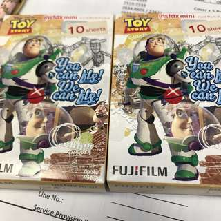 Toystory 反斗奇兵 即影即有相紙 fujifilm