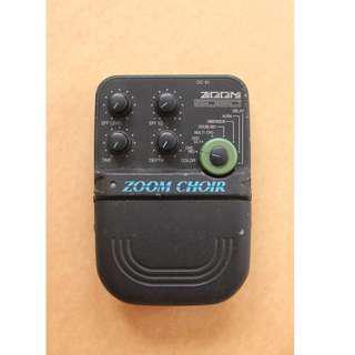 classic Zoom Choir Digital Delay , Chorus , Reverb pedal