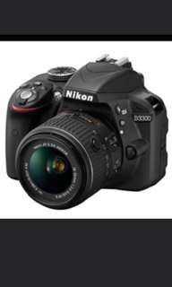LF : Nikon DSLR 3300/3400