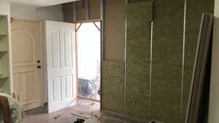 Partition, ceiling and painting work