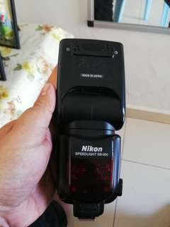 Nikon SB900 speedlite @ flash