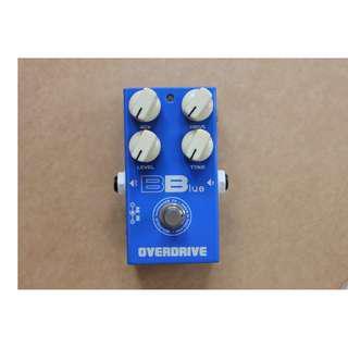 Pedaltank Bblue Guitar Overdrive Effect / Fx