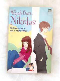 """Wajah Baru Nikolas"" Novel by Regina Feby"