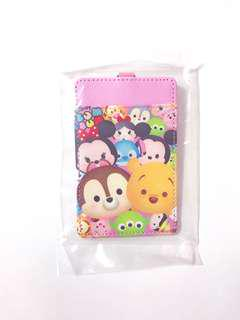 Tsum Tsum Student Bus MRT Card Holder Keychain