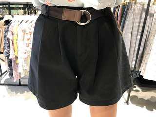 基本款素面短褲(2色)☻