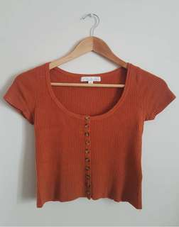 Mooloola Cropped Knit Top