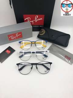Ray Ban 平光鏡 rb6375f  55-18-145 size
