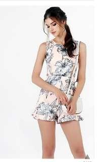 0ae4e30450dd Lovet Lily floral romper in blush