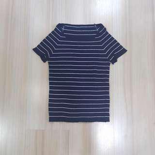Stripes knit top #seppayday
