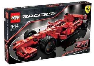 全新Lego 8157 Ferrari F1 (1:9)