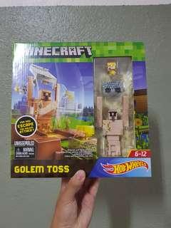 Hot Wheels Minecraft: Golem Toss