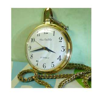 Superb condition ! Vintage Citizen Pocket Watch....mechanical hand winding