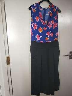 Floral Romper Jumpsuit