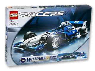 全新Lego 8461 William F1