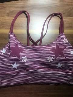 Pink Stars Cotton On Sports Bra