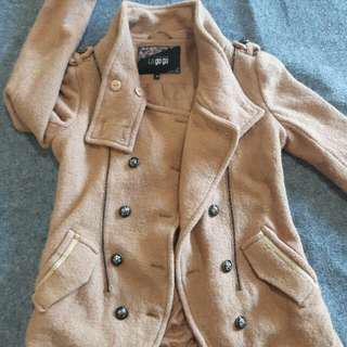 Coat Woll Choco La Go Go