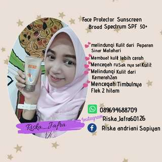 Face Protector sunscreen Broad Spectrum SPF 50
